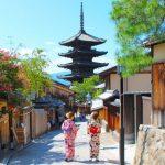 着物の京都美人